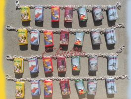 Harry Potter miniature books by Elfetta2007