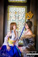 Final Fantasy X - Yuna and Lulu #03 by NanaKuronoma