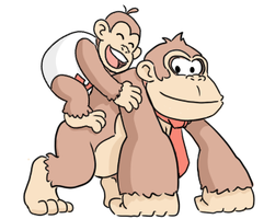 Kongs Junior and Senior by pocket-arsenal