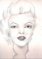Marilyn Monroe by JeanBlaze