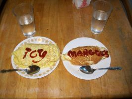 Omurice by icymangoes