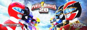 20 Years of Power Rangers by zordonfanclub