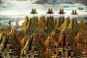 Imaginary  Cities by DorianoArt
