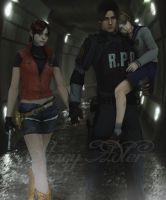 Walking on sewers by StacyAdler