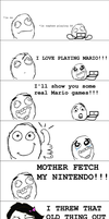 MARIO by SILLYLITTLECOMICS