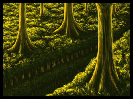 Multilayered Forest by edgeofadream