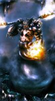 Fire Colossus by BlackAssassiN999