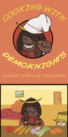 Cooking with Demoknights by FancyPancakes