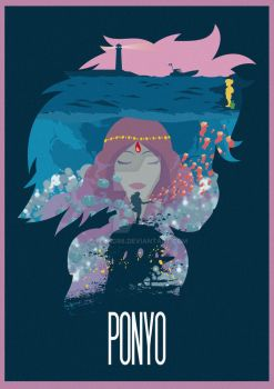 The Many Faces of Cinema: Ponyo by Hyung86