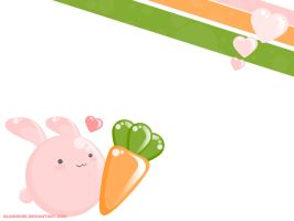 Yummy Giant Carrot Wallpaper by glasskiwi