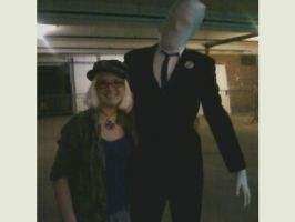 RocCon 2012~APH: Fem!Germany and Slenderman O.o by SterbenEdelweiss