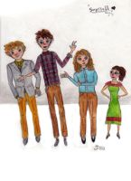The Phillips Kids by Inprismed