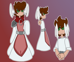 Momentum AU Reference | Barb | 01 by CagedMirrow