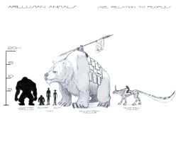 Animal Size-comp chart by A-Nessessary-Studio