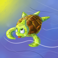 Swimming through the Sea by ToadsDontExist