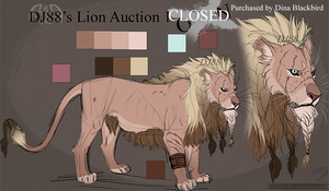 Male Lion Auction 1 -CLOSED- by DJ88