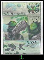 Mutant Bug Squishy Planet. Page 1. by Virus-20