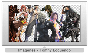 Pack Renders Final Fantasy by TomhyLoquendo
