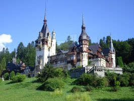 Peles Castle by AndreChristinee