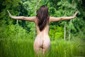 Woman and nature 5 (Nude) by makaveli81