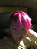 my lovely pink hair by iloveemos2