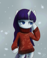 Time For Wearing Big Sweaters. by Raikoh-illust
