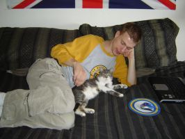 Me and the Crazy Cat by Tymuthus