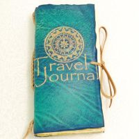 Blue Travel Journal. by gildbookbinders
