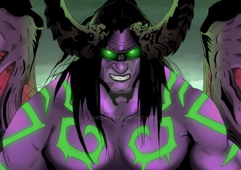 Illidan Stormrage by zarejpv