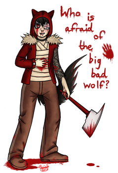 Little Red Wolfinhood by Siriah