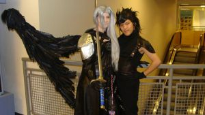 Sephiroth and Zack by Chaosgamer137