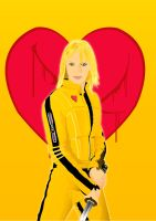 The Bride... Kill Bill by alienbiru