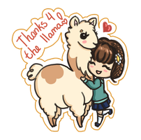 1 - Thx for llama by lady-chamomile