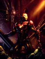 The Ruins - Iron Man by Tanqexe
