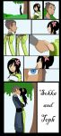 sokka and toph by rotten-jelly-babie