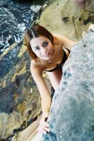 Katie at Athol Beach 11 by wildplaces