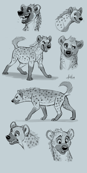 Yeen Doodles by Skeleion