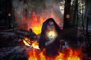 Conjuring the Dead from the Underworld #2 by Branka-Johnlockian