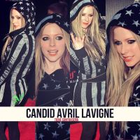 Candid Avril Lavigne by gukialien