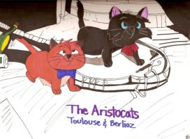 Toulouse and Berlioz by Desart