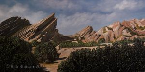 Vasquez Rocks by RobBla1981