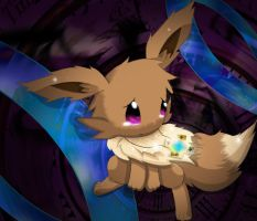 OC Profile: Aria the Time turner 2014 (Eevee Form) by J-Starlight