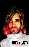 MY JARED LETO IN WPAP by Yusuf-Graphicoholic