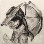 Pencil: Poldark Parasol by SHParsons