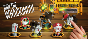 Whack a Robot: Smash it - join the whacking! by thoseguyslabs