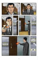 Archer Comic - issue 1, page 17 by StradivariusCain