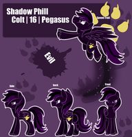Shadow Phil Reference Sheet by MemeSquid