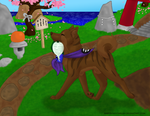 The Digging King by Samys-Paintbrush