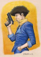 Spike Spiegel by BrokenMachine86