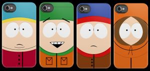 South Park iPhone Cases by V-spitter